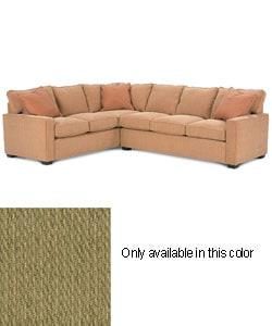 Zeus moss green sectional sofa free shipping today for Moss green sectional sofa