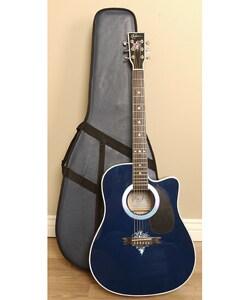 shop esteban american legacy fireworks guitar set free shipping today 2890203. Black Bedroom Furniture Sets. Home Design Ideas