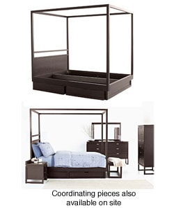 Eliza King-size Canopy Bed - Thumbnail 0
