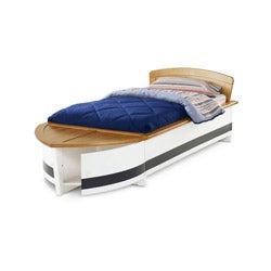 Thumbnail 1, Thompson Twin-size Boat Bed.
