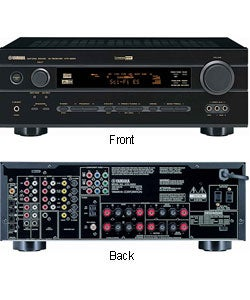 Yamaha htr 5650 av home theater receiver refurbished for Yamaha audio customer service
