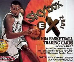 1997/98 Skybox EX-2001 Basketball Hobby Box. Opens flyout.