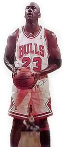 Thumbnail 1, Michael Jordan Life-size Stand-Up.