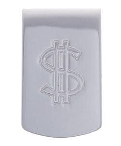 Sterling Essentials Sterling Silver Dollar Sign Money Clip