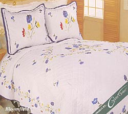 Bloomfield Cotton Patchwork Quilt Set - Thumbnail 0
