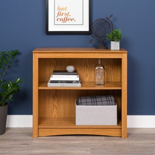 Prepac Wood 2-shelf Bookcase