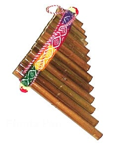 handmade pan flute peru free shipping on orders over