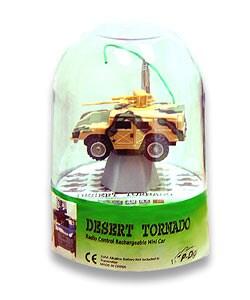 Desert Tornado Remote Control H1 Hummer Micro Car - Thumbnail 0