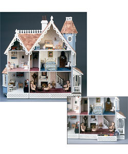McKinley Wall Hanging Dollhouse Kit - Thumbnail 0