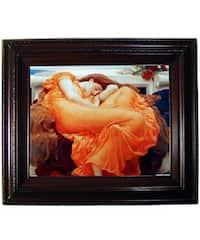 Leighton Flaming June Framed Canvas