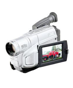 Shop Jvc Gr Sxm750 S Vhs C Camcorder 3 5 In Lcd Autolight Refurbished Overstock 624128
