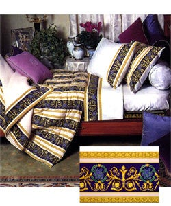 Versace Home Collection Queen Size Decorative Flat Sheet - Thumbnail 0