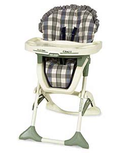 Graco Double-tray Saratoga High Chair - Thumbnail 0