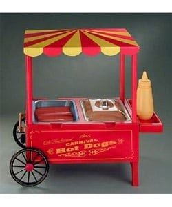 Nostalgia Old Fashioned Electric Corn Dog Deep Fryer