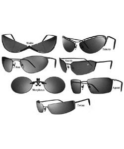 Thumbnail 1, Blinde Design Matrix Sunglasses Set - Set of 7.