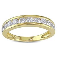 Miadora Signature Collection 14k Gold 1ct TDW Diamond Anniversary Band (H-I, I2-I3)