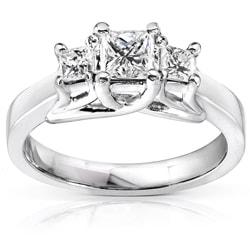 Annello by Kobelli 14k Gold 3/4ct TDW Diamond Engagement Ring (H-I, I1-I2) - Thumbnail 0
