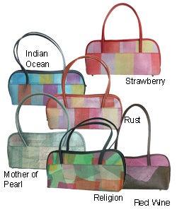 Thumbnail 1, Recycled HRP Anarkali Handbag (India).