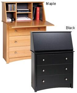 3 Drawer Secretary Desk Thumbnail 0