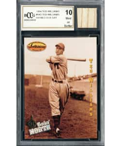 Ted Williams Game Used Bat Mint 10 GGUM Card|https://ak1.ostkcdn.com/images/products/P957068.jpg?impolicy=medium