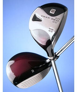 Wilson Golf Deep Red II Tour 18-degree RH Fairway Wood - Thumbnail 0