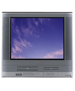 Toshiba MW24FP1 24-inch TV/DVD/VCR Combination (Refurbished) |  Overstock com Shopping - The Best Deals on TV/DVD/VCR Combos