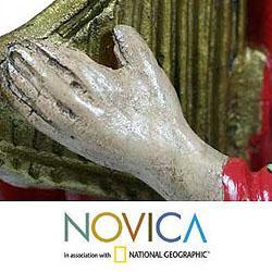 Ceramic 'Santa Maria Chiquimula' Sculpture (Guatemala)