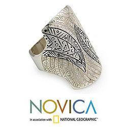 Sterling Silver 'Tuareg Fantasy' Ring (Indonesia)