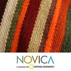 Wool 'Andean Dream' Cushion Cover (Peru) - Thumbnail 2