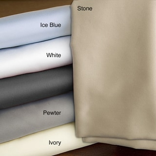 Echelon Home Egyptian Cotton Sateen 800 Thread Count Pillowcases (Set of 2)