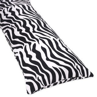 Sweet Jojo Designs Cotton Full-length Double Zippered Body Pillow Cover