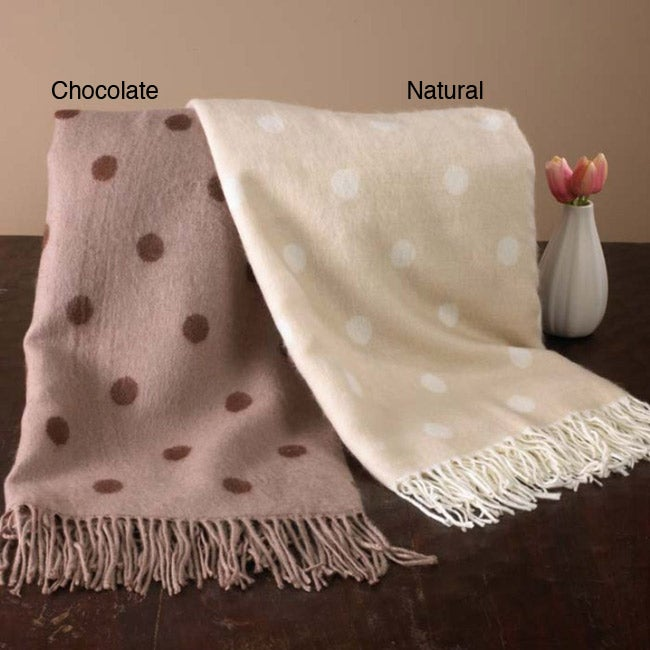 Polka Dot Reversible Throw - Thumbnail 0