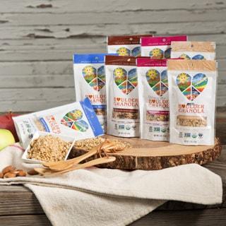 Boulder Granola Organic Gluten-free Variety Pack (Set of 8)