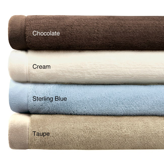 Premier Comfort Luxtouch Twin-size Microfur Blanket