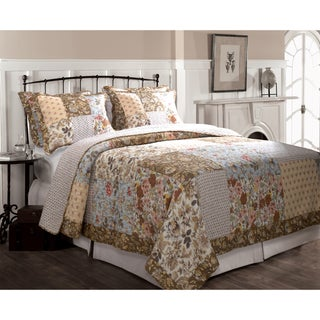 Greenland Home Fashions Camilla 3-piece Quilt Set