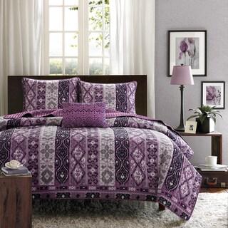 Mi Zone Noelle 4-piece Quilt Set