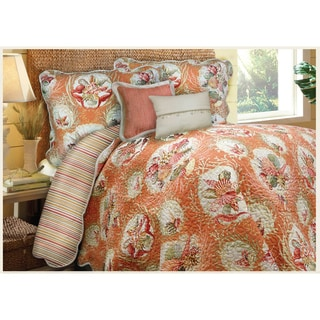 Shell Key Quilt and Sham Separates