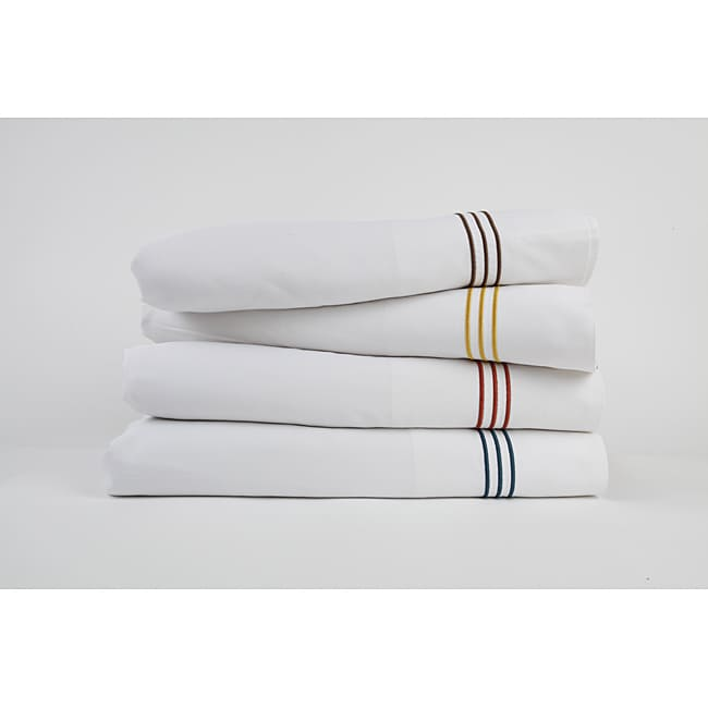 Baratto Piping Rayon from Bamboo Sheet Set (Queen Size)