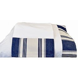 Canon Denim Blue Twin 200 Thread Count Sheet Set