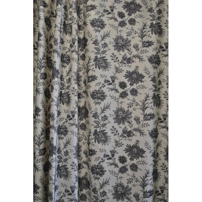 Sherry Kline Sakari Black Shower Curtain