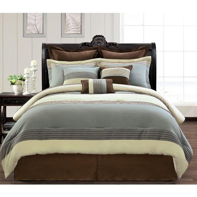 Silver Lake Luxury 9-piece Comforter Set