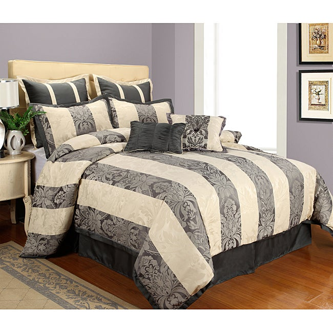 Somerset Stone King-size 8-piece Comforter Set