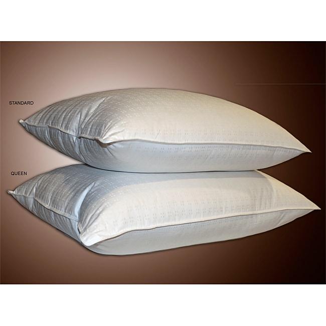 Swiss Dot 330 Thread Count Down Alternative Pillows (Set of 2)