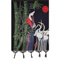 Handmade Crane Dance Tapestry (China)
