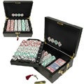 High Roller 500 Chip Poker Set with Mahogany Case