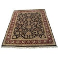 Indo Mahal Hand-knotted Rug (9'1 x 12')