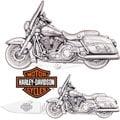 Harley-Davidson Heritage Softail Knife