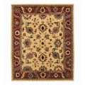 Nourison Hand-Knotted Tahoe Gold Wool Rug (8'6 x 11'6)