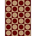 Sorina Machine-made Contempo Heat-set Emerlen Rug (5'5 x 7'7)