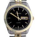 Geneva Platinum Day/Date Men's Fashion Watch